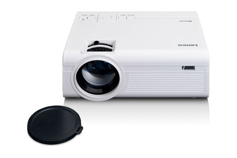 Lenco LPJ-300 projector - Front open