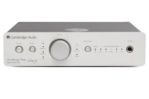Cambridge Audio DacMagic Plus, sølv