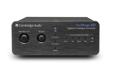 Cambridge Audio DacMagic 100, sort