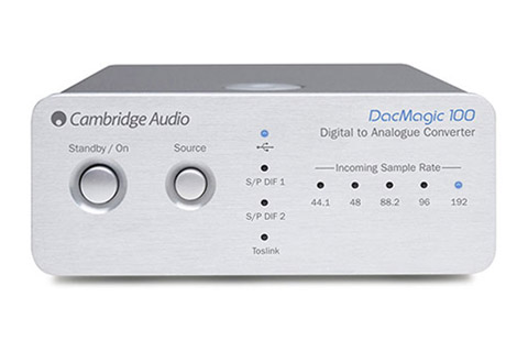 Cambridge Audio DacMagic 100, sølv