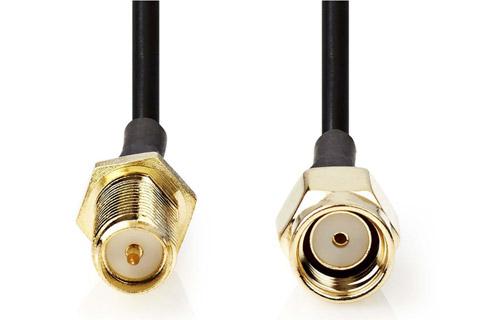 WLAN antenna extension cable (SMA - reverse polarity)