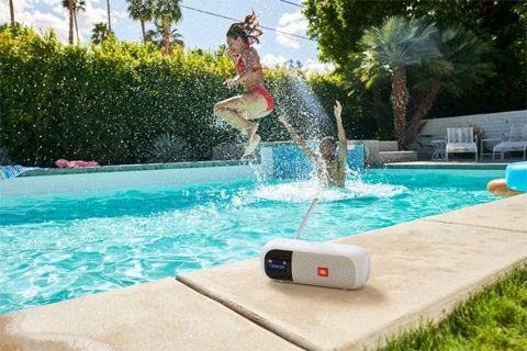 JBL Tuner 2  portable speaker, lifestyle