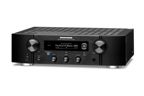 Marantz PM7000N stereo amplifier, black