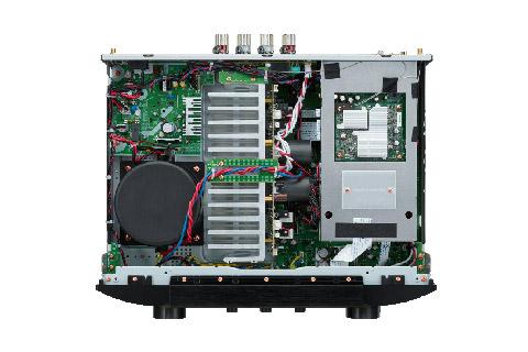 Marantz PM7000N stereo amplifier, inside