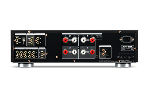Marantz PM8006 stereo amplifier, rear