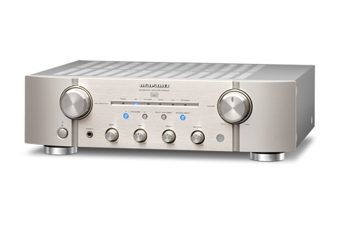 Marantz PM8006 stereo amplifier, silver
