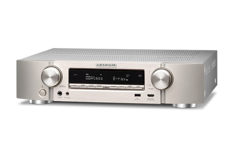 Marantz NR1710 surround receiver, silver