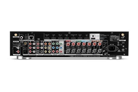 Marantz NR1710 surround receiver, rear