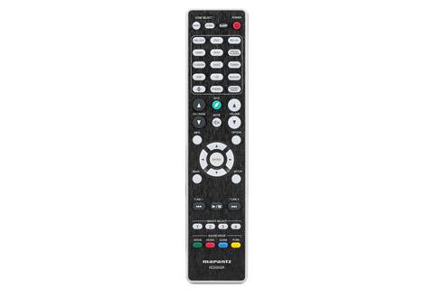 Marantz NR1710 surround receiver, remote
