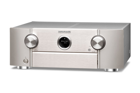 Marantz SR6014 surround receiver, silver