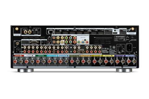 Marantz SR6014 surround receiver, rear