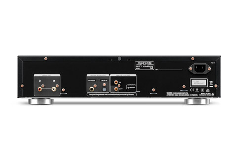 Marantz CD6006 CD player, rear