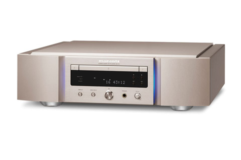 Marantz SA-10S1 CD player, gold