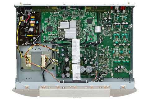 Marantz NA6006 network player, inside