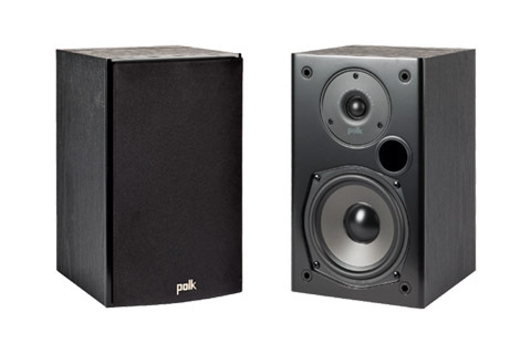 Polk Audio T15 bookshelf speaker - Front