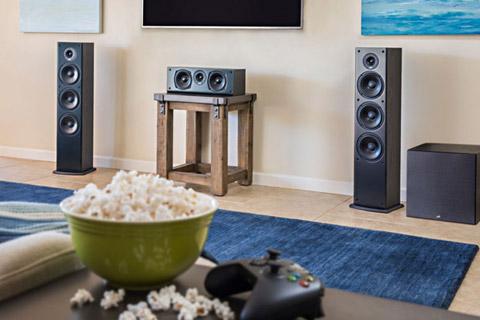 Polk Audio T50 floor speaker - Lifestyle