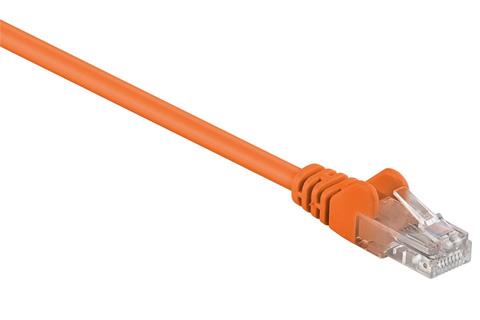 Network cable, Cat 5e UTP, orange