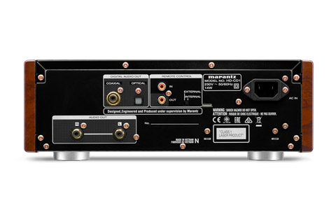 Marantz HD-CD1 CD-player - Back