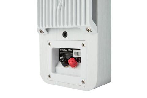 Polk Audio S10e bookshelf speaker - White back