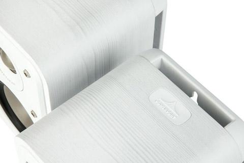 Polk Audio S10e bookshelf speaker - White top