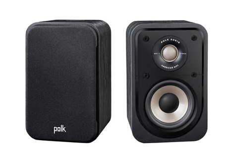 Polk Audio S10e bookshelf speaker - Black front