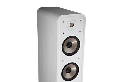 Polk Audio S60e bookshelf speaker - White top