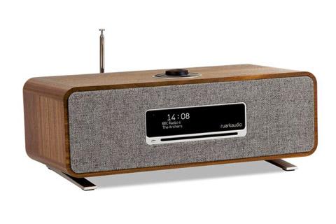 Ruark Audio R3 music system table top FM/DAB+ internet radio with bluetooth - Walnut