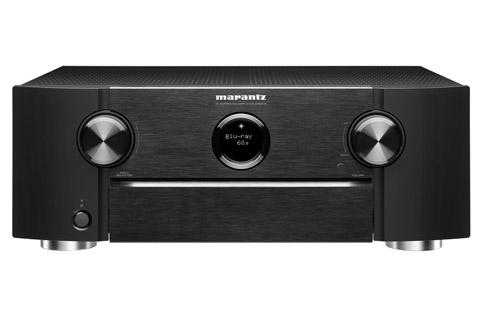 Marantz SR6015 surround receiver, black