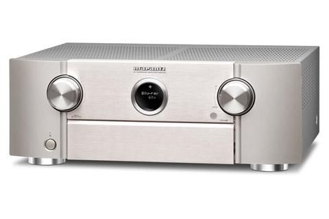 Marantz SR6015 surround receiver, silver