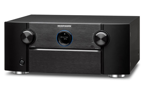 Marantz SR7015 surround receiver, black