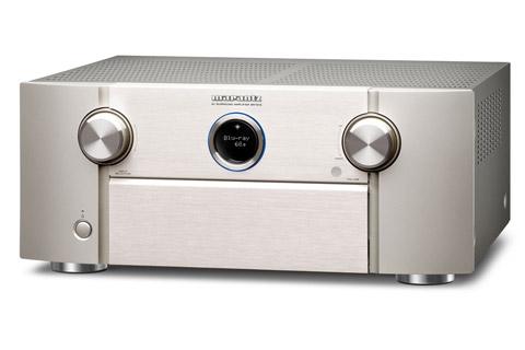 Marantz SR7015 surround receiver, silver