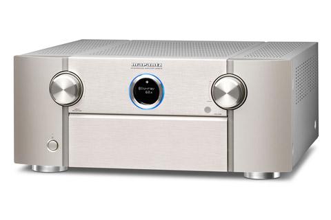 Marantz SR8015 surround receiver, silver