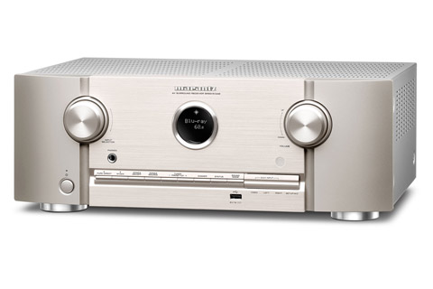 Marantz SR5015 DAB surround receiver, silver