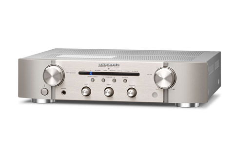 Marantz PM6007 stereo amplifier, silver