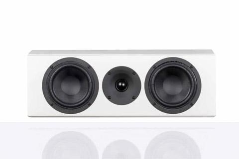 System Audio Legend 10 center højttaler, hvid satin