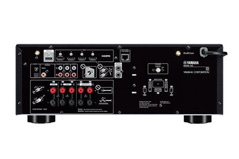 Yamaha RX-V4A surround receiver, black