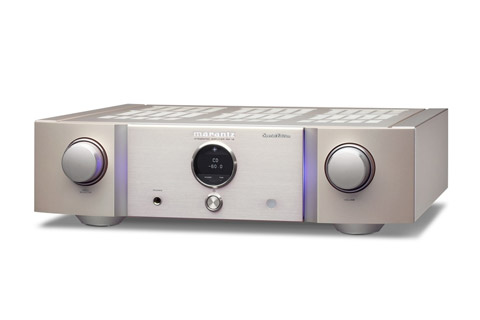Marantz PM-12SE stereo amplifier, silver/gold