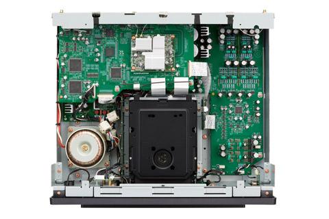 Marantz SACD 30n CD-player, inside