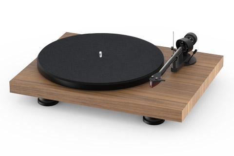 Pro-Ject Debut Carbon EVO recordplayer, walnut