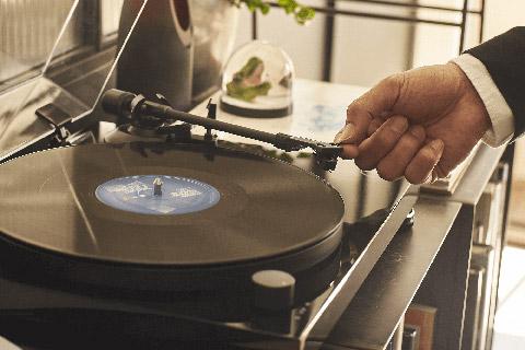 Audio Technica AT-LPW50PB record player