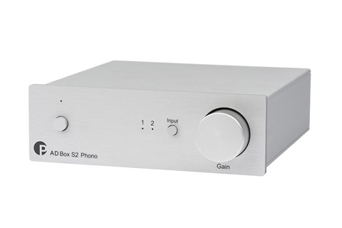 Pro-Ject AD BOX S2 Phono, silver