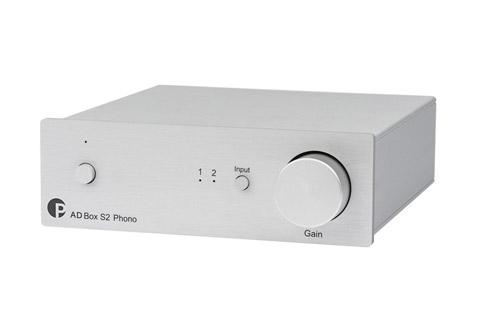 Pro-Ject AD BOX S2 Phono, silver