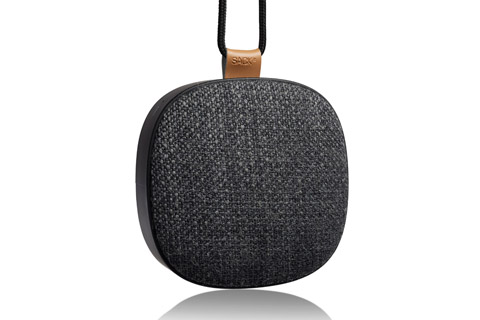 SACKit WOOFit GO XQ bluetooth speaker, steel