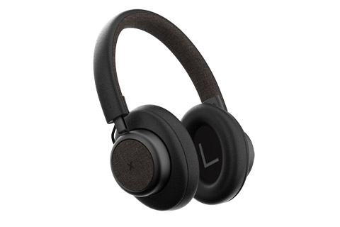 SACKit TOUCHit over-ear headphones, black