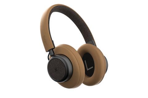 SACKit TOUCHit over-ear headphones, golden
