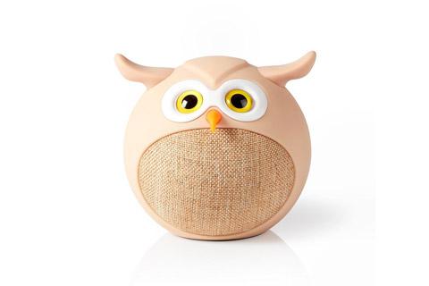Nedis Olly Owl Animaticks Bluetooth-højttaler - Front