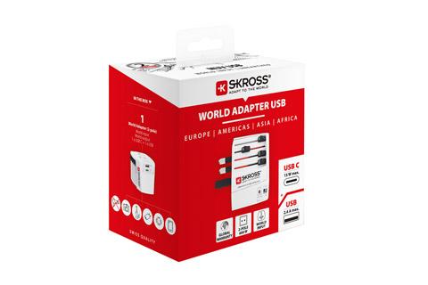 Skross World adapter MUV USB-C