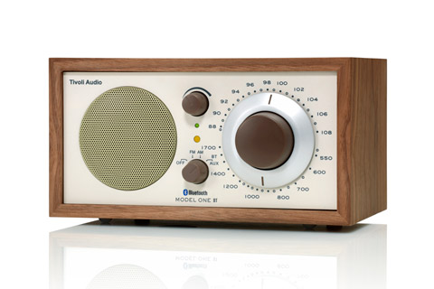 Tivoli Audio Model One BT, valnut/beige