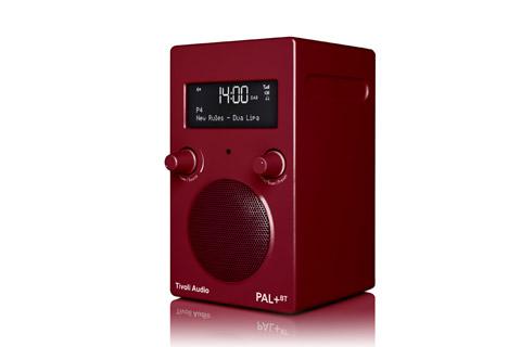 Tivoli Audio PAL+ BT, red 2.gen