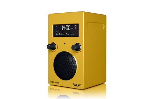Tivoli Audio PAL+ BT, yellow 2.gen